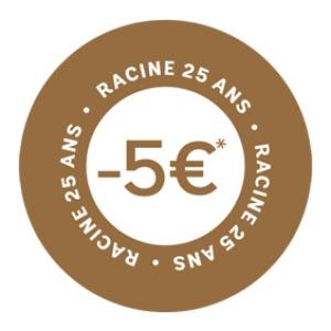 - 5 €