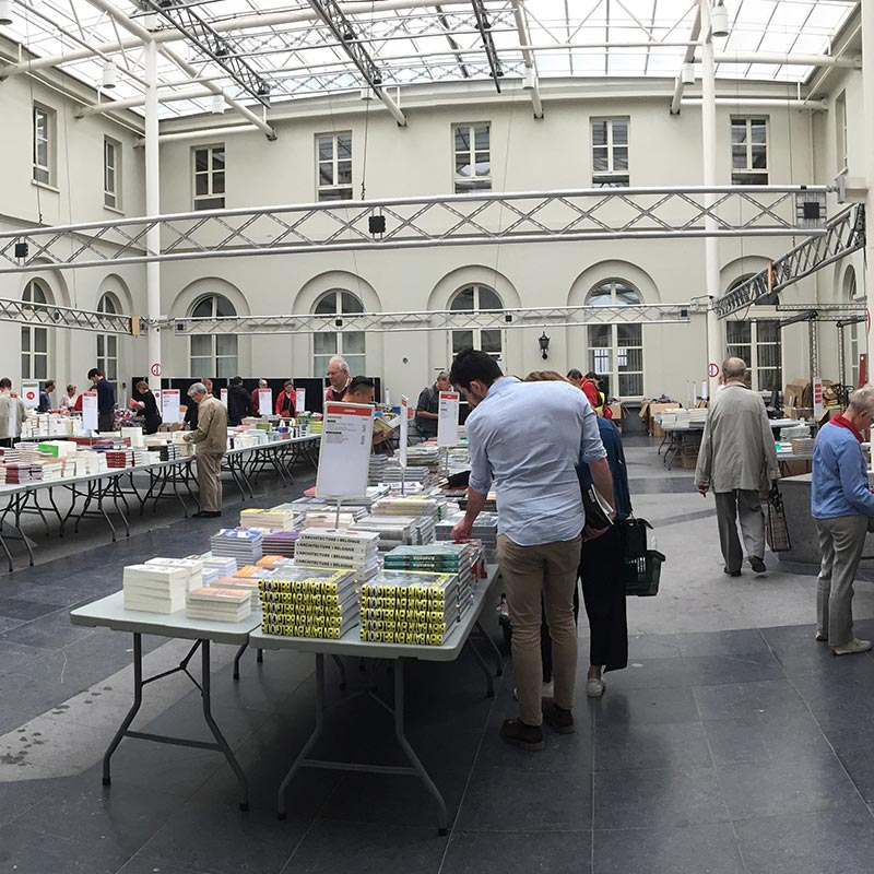 Vente de livres Bruxelles